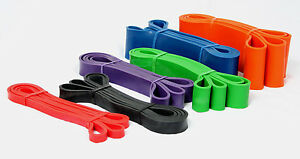 Resistance Loop Band Fitness Exercise & Strength Fitness Heavy Duty 100% Latex