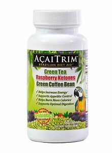 AcaiTrim Weight Loss Pills Acai Berry Capsules with Green Coffee Bean More $17.99