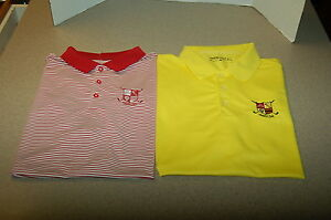 LOT NIKE MOOR PARK COUNTRY CLUB GOLF POLO SHIRT XL dri fit custom tour camisas
