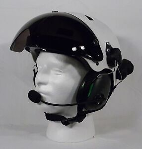 NEW Composite paramotor Helmet with Bluetooth Sena communication Equipped