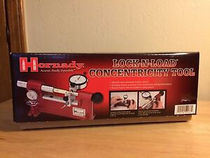 Hornady Lock-N-Load Ammo Concentricity Tool  Gauge