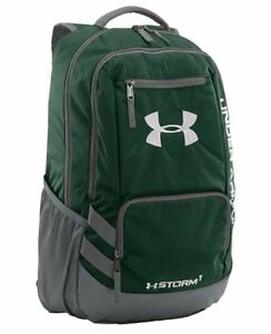 Under Armour UA Storm Hustle Backpack Forest GreenGraphite