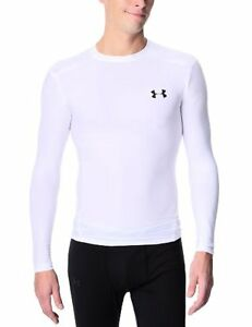 Men's HeatGear Compression Long Sleeve T-Shirt Tops by Under Armour