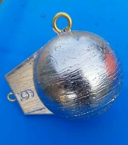 6lb downrigger balls cannon ball sinkers lead fishing weights