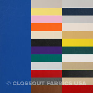 Marine Vinyl Fabric Faux Leather Boat Auto Outdoor Upholstery 33 Colors $79.75