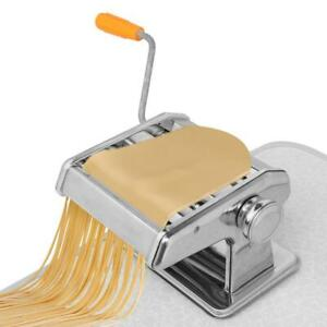 Stainless Steel Fresh Pasta Maker Roller Machine for Fettuccine Spaghetti Noodle