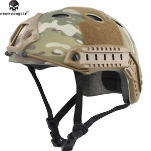 Emersongear Tactical Airsoft Paintball Breathable Emerson Fast Style PJ Helmet