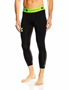 1253582 Under Armour Mens UA Combine Training Ascent190; Compression Leggings S