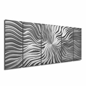 Large Metal Wall Sculpture Contemporary Abstract Art Modern by Sebastian R.