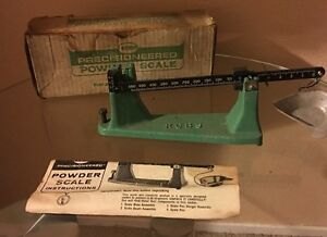 RCBS MODEL 505 RELOADING SCALE 511 GR CAPACITY MADE BY OHAUS WBOX