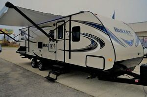 Travel Trailer Bullet 287QBS RV Camper New and Used Fifth Wheels For Sale