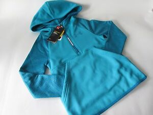 $54.99 Under Armour Storm Armour Fleece Print Hoodie Big Girl's Teal size YSM