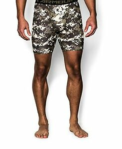 Under Armour Men's UA Freedom Desert Digi Camo Compression Shorts
