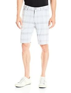 adidas Golf Men's Stretch Tonal Plaid Shorts - Choose SZColor