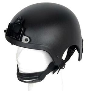 Lancer Tactical Ibh Helmet CA-331B Black New For Airsoft