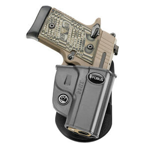 NEW! Fobus KMSG Black Polymer Paddle Holster for Sig P938 & P238 Right Hand