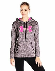 Under Armour Women's Storm Fleece Big Logo Twist Hoodie - Choose SZColor