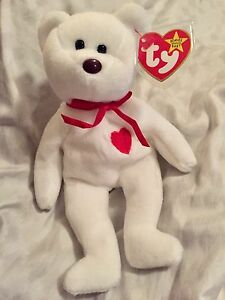 Super RARE Valentino TY Beanie Baby BROWN Nose10 MisspelledMistakes HOLY GRAIL!