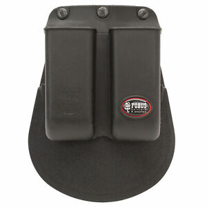 Fobus Double Mag pouch Paddle Holster Single Stack .380 Black Ambidextrous 6922P