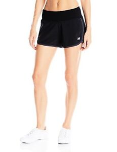 New Balance Clothing WS53226 Womens Impact 3-in Shorts- Choose SZColor.