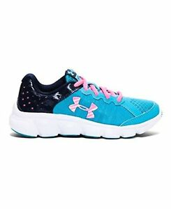Under Armour 1266321-974 Girls Pre-School UA Assert 6 Running Shoes Youth SZ