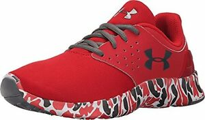 1266505-600 Under Armour Kids Boys UA BGS Flow RN CAMO (Big Kid)