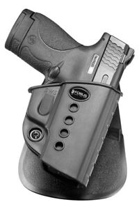 Fobus Evolution Paddle Holster CZ 97B/S&W M&P Shield Black Right Hand SWS