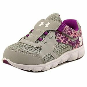 Under Armour 1258777-052 Girls Infant UA Thrill AC Running Shoes 8K