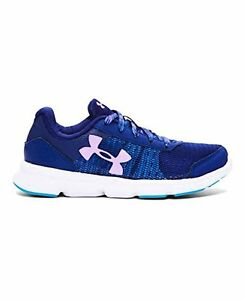 Under Armour 1266306-403 Girls Pre-School UA Speed Swift Running Shoes 3 Caspian