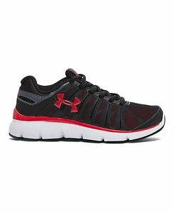 Under Armour Little Boys Pre-School UA Pulse II Shoes 13K Black
