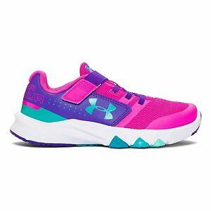 1285098-878 Under Armour Kids Girls UA GPS Primed AC (Little Kid) Lunar