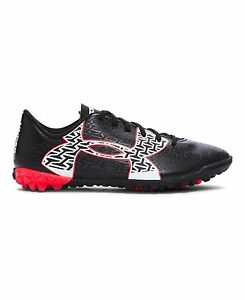 Under Armour 1269081-006 Boys UA ClutchFit Force 2.0 TR Jr. Soccer Shoes 3 Black
