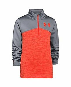 Under Armour 1264241-826 Boys UA Gamut188; Zip Youth  Fuego- Choose SZColor.
