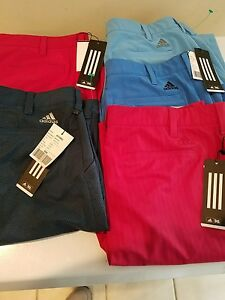 Lot of 5 New Adidas Golf Ultimate 365 CC Solid Short Stretch Waist Band size 34