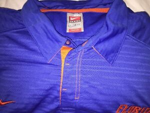 Nike Fit Dry Florida Gators POLO SHIRT 3XL XXXL