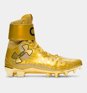 Under Armour C1N Cam Newton MVP Cleats Limited Edition Signed 150 New Sz 10 US