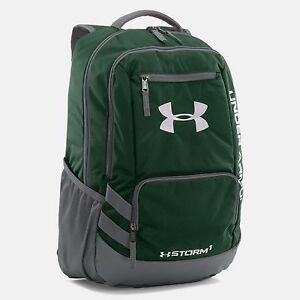 Under Armour Team Hustle Backpack GreenGraphite (1272782-301)