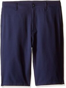 Under Armour Boys' Medal Play Golf Shorts Midnight NavyGraphite Youth Small