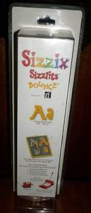 Sizzlits Bounce Alphabet Set 35 Dies = 140 Die Cuts UpperLowercase