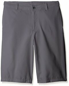 Under Armour Boys' Medal Play Golf Shorts GraphiteBlack Youth X-Large