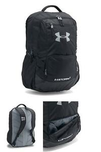 Under Armour Storm Hustle II Backpack Laptop Sports Outdoor Athletic Bag Black