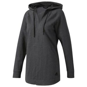 Adidas Women Comfort Cover-Up Top gray dark grey heather