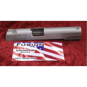 1911 Slide 45acp Stainless Gov Standard Dovetail Rear Serrations Round top