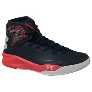 Under Armour Rocket 2 1286385410 navy blue over-the-ankle