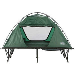 KAMP-RITE TENT COT INC 190T Nylon Double Tent Cot wRainfly DCTC343 Green