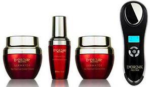 D'or 24K All Dermatox Products with Sonic Device - Authorized Seller