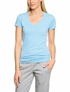 Under Armour 1236032-429 Womens Charged Cotton Undeniable T-Shirt X-S ELECTRIC