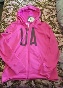 Womans under armour hoodie xl nwt