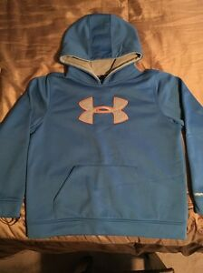Under Armour Boys SweaterSweatshirt Hoodie Storm YOUTH XL Blue