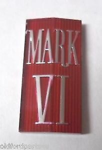 1980 1981 1982 1983 Lincoln Mark VI New Grill Medallion Ornament